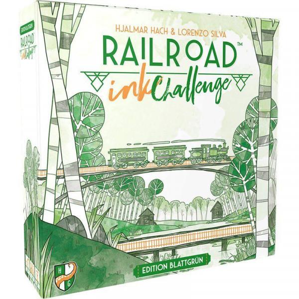 Railroad Ink: Challenge: Edition Blattgrün