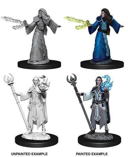 D&D Nolzur's Marvelous Unpainted Minis: Elf Male Wizard