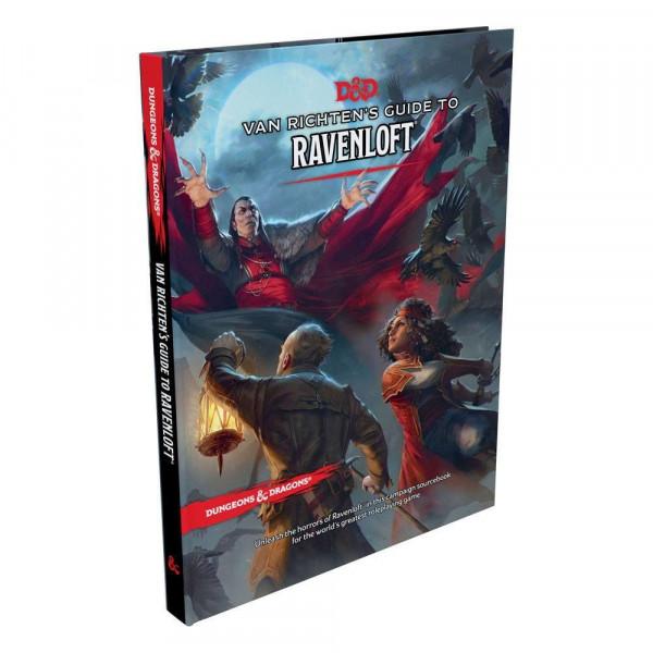 Dungeons & Dragons RPG Adventure Adventure Van Richten's Guide to Ravenloft  englisch
