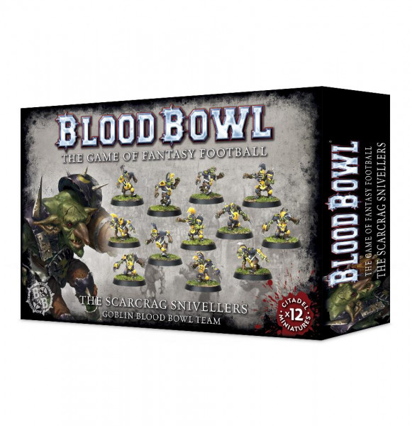 Blood Bowl Scarcrag Snicellers Blood Bowl Team