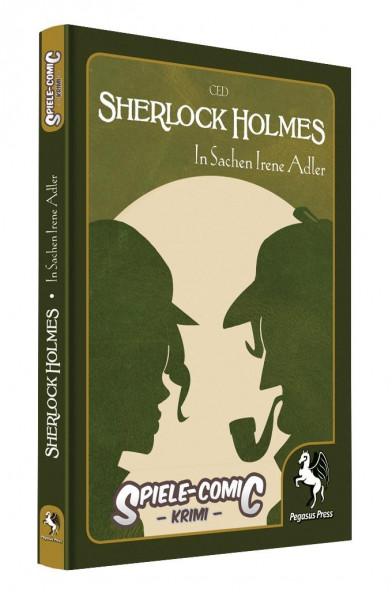 Spiele-Comic Krimi: Sherlock Holmes #3 - In Sachen Irene Adler (Hardcover)