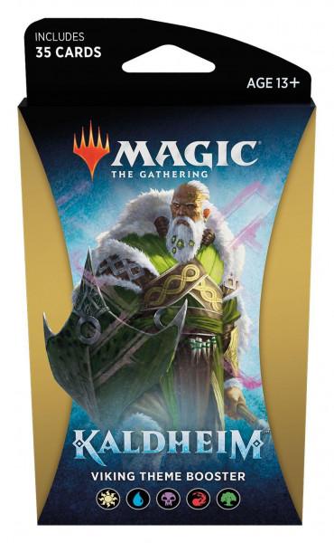 Magic: Kaldheim Themen Booster vikink engl.