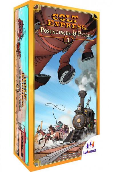 Colt Express - Postkutsche & Pferde