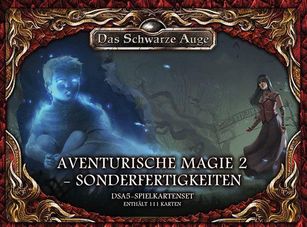 DSA 5 - Spielkartenset Aventurische Magie 2 Sonderfertigkeiten