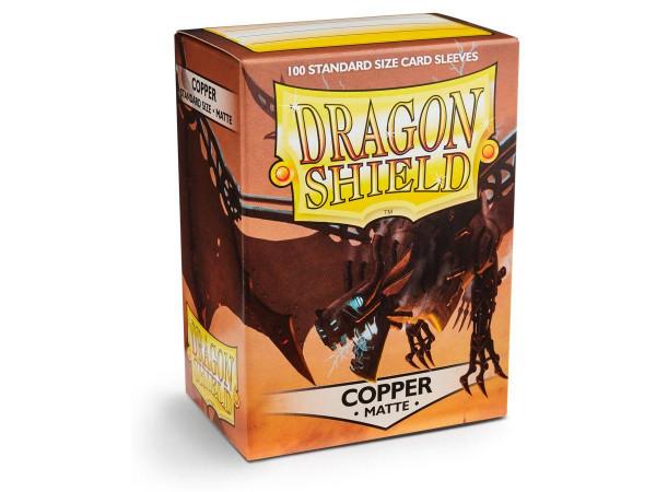 Dragon Shield Deck Protector Matte Copper