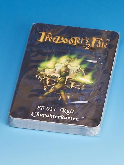 Freebooter's Fate Kult Charakterkarten #2