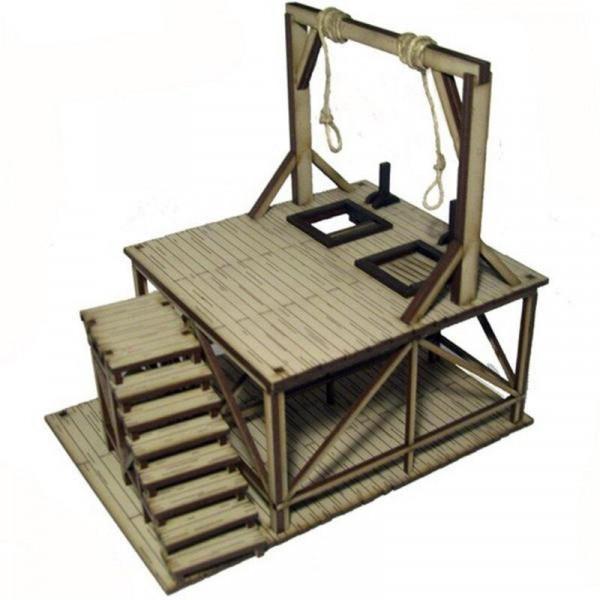 4 Ground Dead Mans Hand Feature Building 4: Hangmans Gallows
