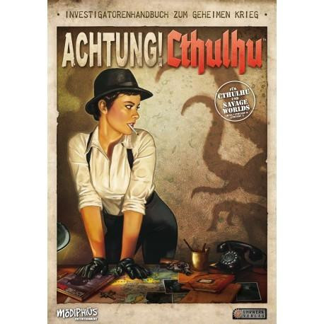 Achtung! Cthulhu Investigatorenhandbuch