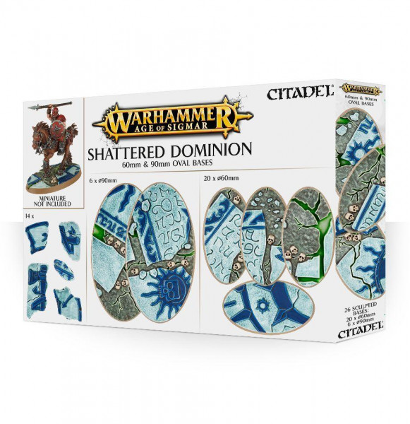 Shattered Dominion 60mm &  90mm Oval Base