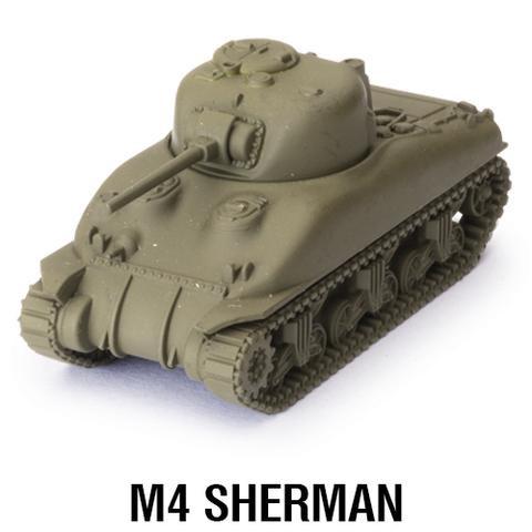 World of Tanks Miniature Game - M4A1 Sherman