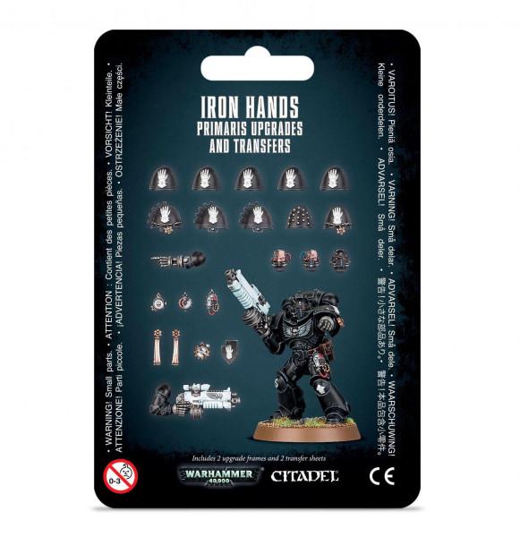Iron Hands Primaris Upgrades & Transfers