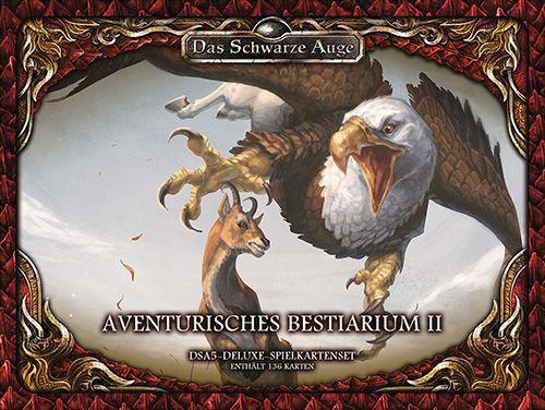 DSA 5 - Aventurisches Bestiarium 2 Spielkartenset Deluxe