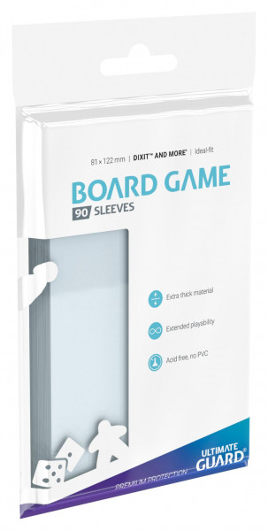 Ultimate Guard Premium Soft Sleeves 82x82 Boardgame (50)
