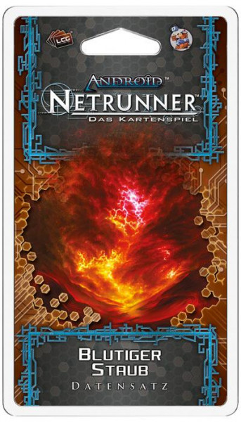 Android Netrunner LCG: Roter-Sand Zyklus 6 - Blutiger Staub