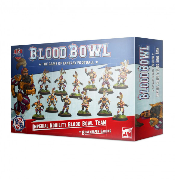 Blood Bowl Imperial Nobility Team