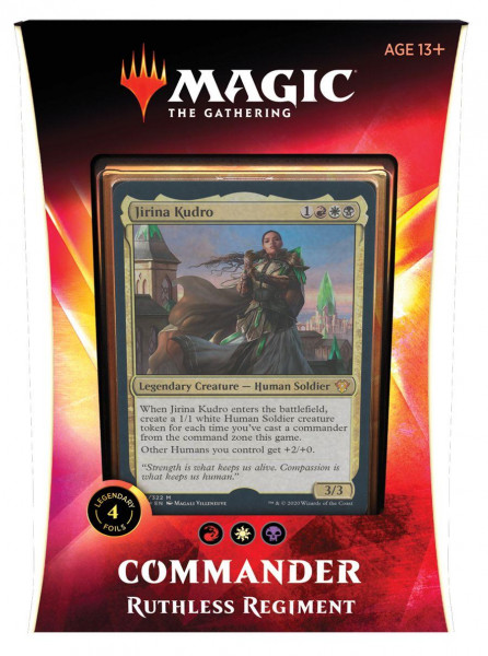 Magic: Ikoria: Lair of Behemoths Commander Deck - Ruthless Regiment