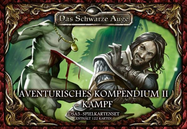 DSA 5 - Spielkartenset Aventurisches Kompendium 2 Kampf