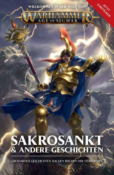 Warhammer AoS Roman Sakrosankt & andere Geschichten ALT