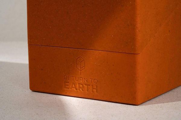 Ultimate Guard Return To Earth Boulder Deck Case 100+ Standardgröße Orange