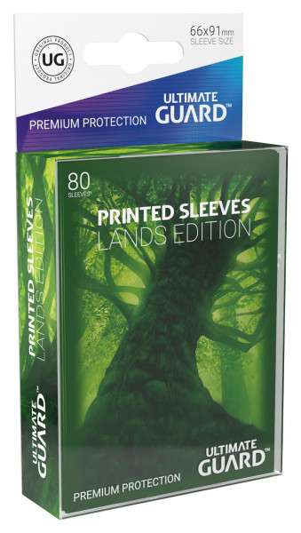 Ultimate Guard Printed Sleeves Lands Edition Forest I (80)