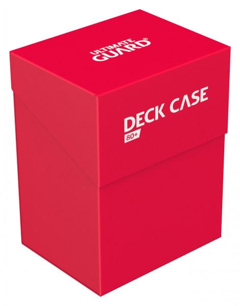 Ultimate Guard Deck Case 80+ Standardgröße Rot