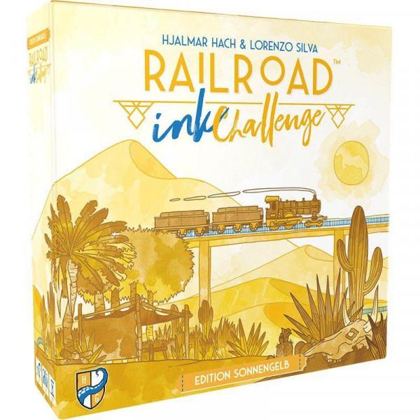 Railroad Ink: Challenge: Edition Sonnengelb