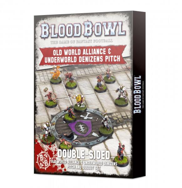 Blood Bowl: Old World & Underworld Pitch