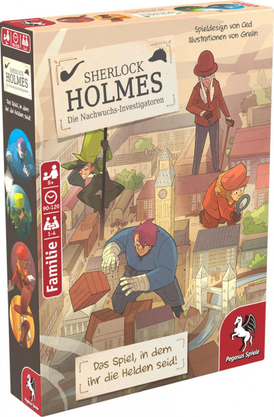 Sherlock Holmes - DIe Nachwuchs-Investigatoren