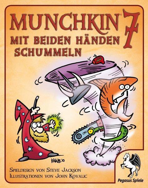 Munchkin 7 Mit beiden Händen schummeln