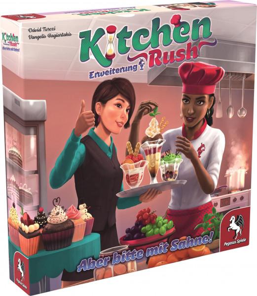Kitchen Rush: Aber bitte mit Sahne!