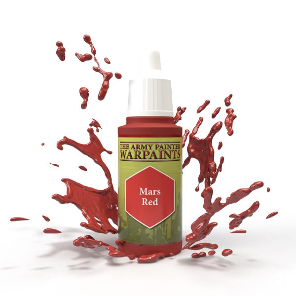 Army Painter Farben: Mars Red