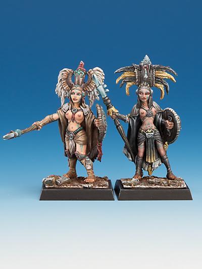Freebooter Amazonen Tempelwächterinnen