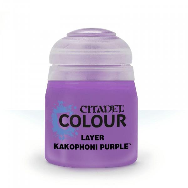 Farben Layer: Kakophoni Purple