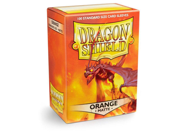 Dragon Shield Deck Protector Matte Orange