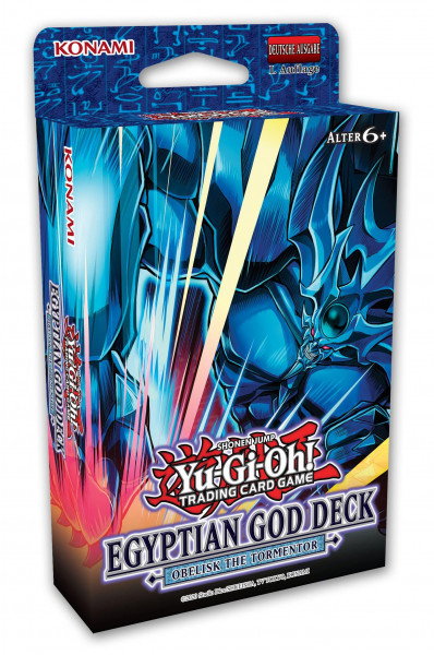 Yu-Gi-Oh! TCG Egyptian God Deck: Obelisk