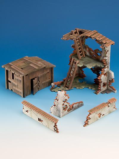 Freebooter Zubehör Freebooters City of Longfall - Ruined Cabaña Derumbar