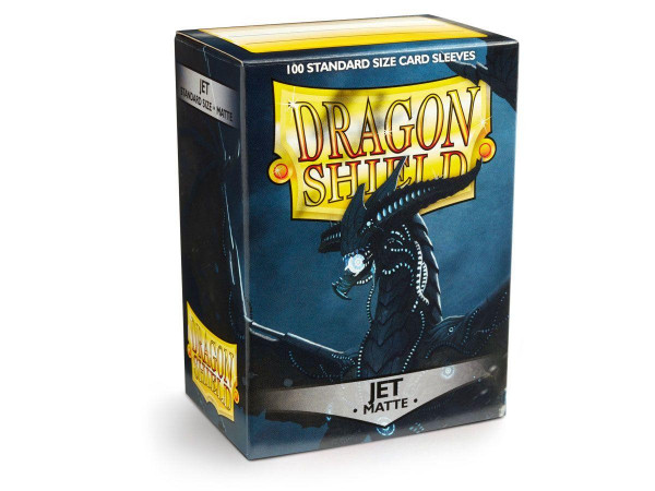 Dragon Shield Deck Protector Matte Jet