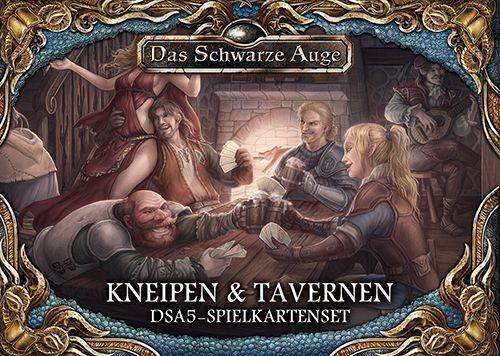 DSA 5 - Spielkartenset Kneipen und Tavernen