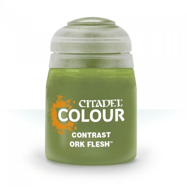 Farben Contrast: Ork Flesh