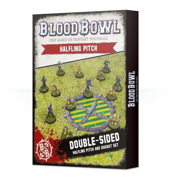Blood Bowl: Halfling Pitch & Dugouts