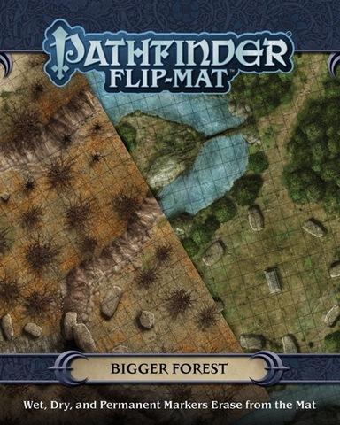 Pathfinder RSP: Flip-Mat - Bigger Forest