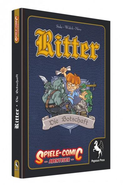 Spiele-Comic Abenteuer: Ritter #2 - Die Botschaft (Hardcover)