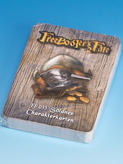 Freebooter's Fate Söldner Charakterkarten #2