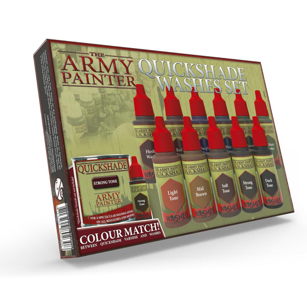 Army Painter: Box Quickshades Washes Set