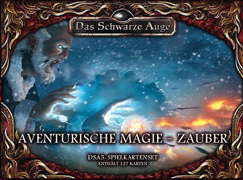 DSA 5 - Spielkartenset Aventurische Magie Zauber