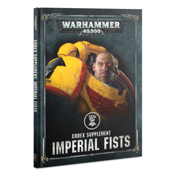 W40k Codex Supplement Imperial Fists