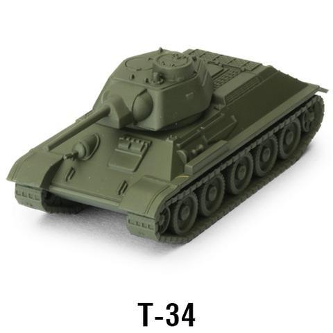 World of Tanks Miniature Game - Soviet (T-34)