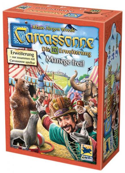 Carcassonne 2. Edition Erweiterung 10: Manege frei!