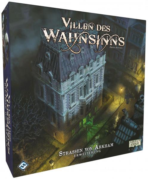 Villen des Wahnsinns - 2. Edition - Straßen von Arkham