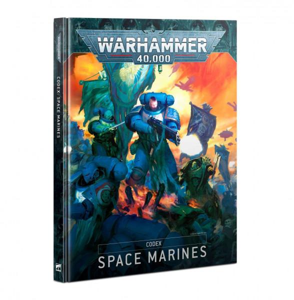 W40k Codex Space Marines englisch